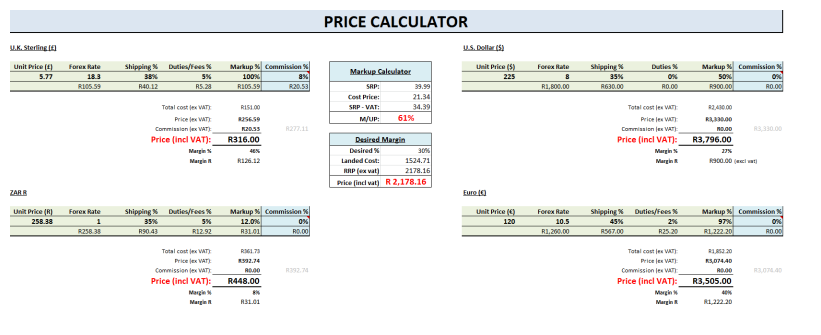 Forex investment calculator